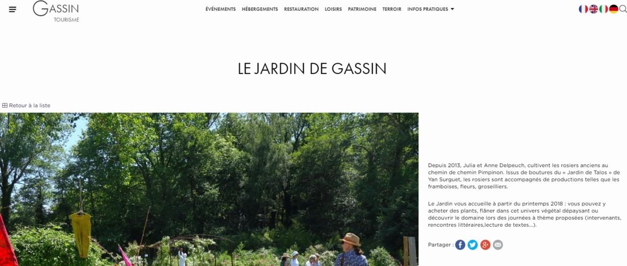 Office du tourisme de Gassin